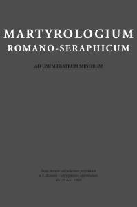 Martyrologium Romano-Seraphicum@2x